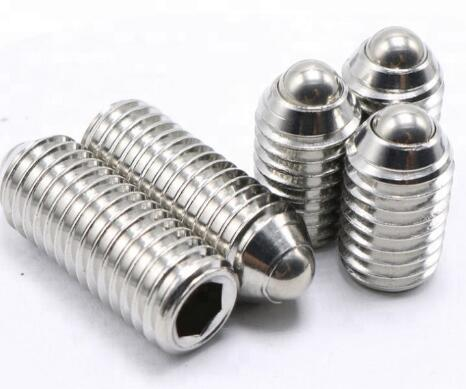 "SS304 SS316 1/4"" Flange Head Screws With Oval Point ANSI / ASME B 18.3"