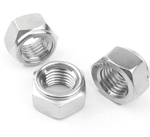 NTE All Metal Lock Nut Stainless Steel Prevailing Torque Type 4.8 Grade