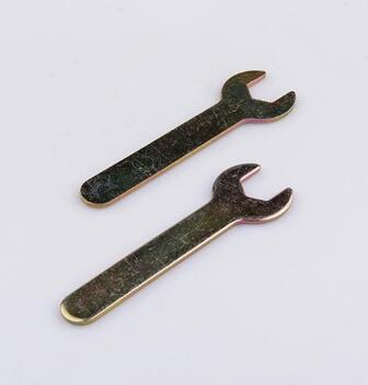 Custom Size Carbon Steel Wrench Spanner For Hex Key Set With ISO 7045