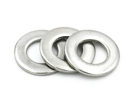 Grade 4.8 DIN125 Steel Flat Washers M1.7 - M165 Zinc Plate Surface Small Size