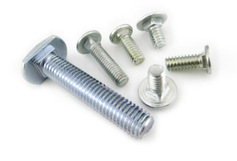 Electronic Steel Bolts And Nuts Zinc Plate Surface M6 X 30 Size ASME B18.6.3