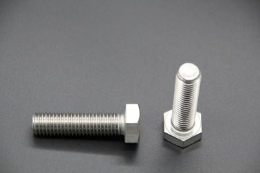 China DIN 933 M6x12 Stainless Steel Hex Head Bolts , Hexagonal Headed Bolt Hardware Accessories supplier