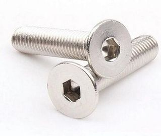 China DIN7991 Countersunk Head Screw Hex Socket Recessed Self Threading Screws Partially Thread supplier