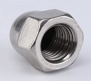 China Hexagon Socket Head Cap Screw Carbon Steel Flat Cap Nut Zinc Plate Surface supplier