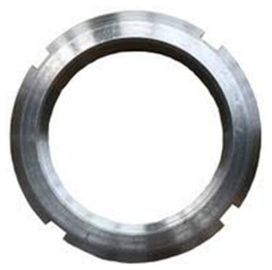China Carbon Steel Bearing Round Lock Nut M8 X 40 Zinc Plate Surface DIN981 supplier