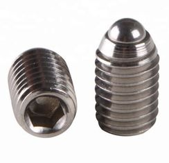 "China SS304 SS316 1/4"" Flange Head Screws With Oval Point ANSI / ASME B 18.3 supplier"
