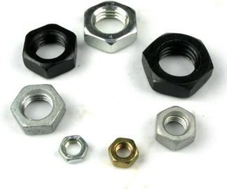 China Stainless Steel Heavy Hex Nuts Flat Jam Fasteners Nuts ANSI / ASME B 18.2.2 supplier