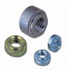 Stainless Steel Heavy Hex Nuts Machining Locking Rivet Round Pem Clinch Nut