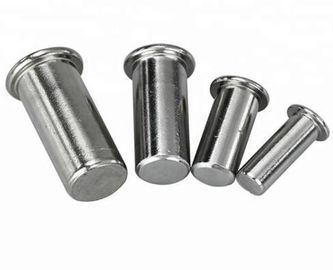 Machinery Industry Solid Aluminum Rivets And Studs Zinc Plate Surface