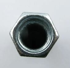 China Din 6334 M2 Hexagon Long Heavy Hex Nuts Round Eye Coupling 8.8 Grade supplier