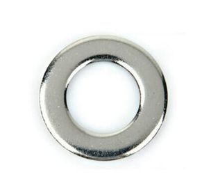China Grade 4.8 DIN125 Steel Flat Washers M1.7 - M165 Zinc Plate Surface Small Size supplier