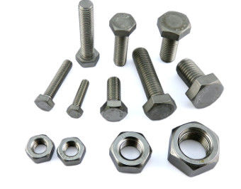 China Electronic Steel Bolts And Nuts Zinc Plate Surface M6 X 30 Size ASME B18.6.3 supplier