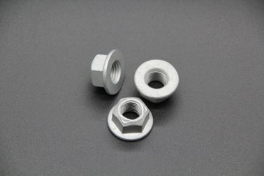 China Hexagon M16 Flanged Prevailing Torque Lock Nut Din 6927 Class 8 Resist Loosening distributor
