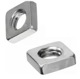 China DIN562 Heavy Hex Nuts Square Thin Nut Steel Carbon Steel Weld Zinc Plate Surface distributor