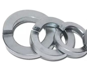 China DIN7980 stainless steel spring lock washers with square end for cheese head screw CE Certification distributor