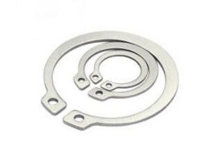 China Steel Circlip Steel Flat Washers Din471 Carbon Steel Retaining Rings M4x20 Size distributor