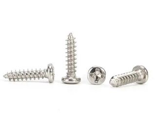 China Professional Pan Head Screw Small Self Tapping Screws Mild Steel Material distributor