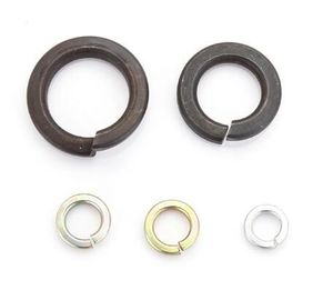 China Zinc Plated Heavy Duty Spring Washers M4 Black Stainless Steel Carbon Steel Din127a / Din127b distributor